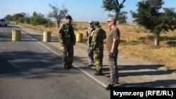 Блокада Криму поблизу «Чонгара», архівне фото