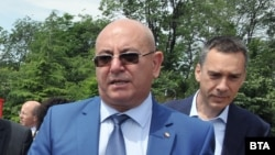Екоминистърът Емил Димитров в Бургас