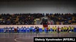 Матч чемпионата Украины по футзалу в «Ледовом дворце спорта»