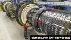 Газовые турбины концерна Siemens.