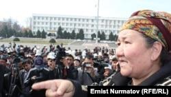 """Акция протеста сторонников """"атажуртовцев"""" в Оше. 5 марта 2013 года"""