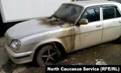 Поездка в Чечню обернулась поджогом