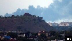 Бои недалеко от Донецка