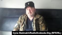 Командир окремої добровольчої чоти «Карпатська Січ» Олег Куцин