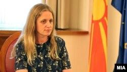 Британската амбасадорка во Македонија, Рејчел Галовеј