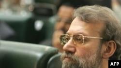علی لاریجانی تنها کانديدای رياست مجلس هشتم بود.(عکس: AFP)