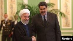 Президент Ірану Хасан Роугані і президент Венесуели Ніколас Мадуро (фото архівне)