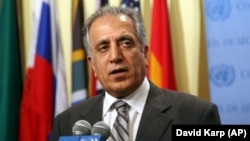 Zalmay Khalilzad, the U.S. special envoy on Afghanistan