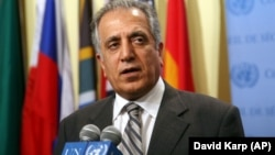 U.S. peace envoy Zalmay Khalilzad has met previously with Taliban representatives. It is not known whether the U.S. will attend the planned peace talks in Moscow.