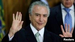 Presidenti i përkohshëm i Brazilit, Michel Temer