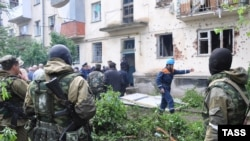 A counterterrorism operation in Nalchik in May 2009