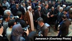 محمدرضا عارف و شماری از چهرههای اصلاحطلب در همایش هماندیشی اصلاحطلبان سراسر کشور