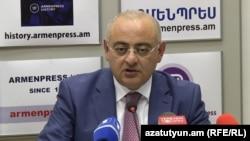 Зампред Комитета государственных доходов Армении Рафик Машадян, Ераван, 24 августа 2018 г.