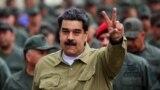 Николас Мадуро на военных учениях в начале февраля 2019 года