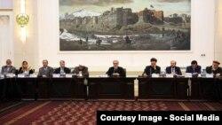 نشست کابینه افغانستان