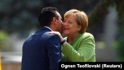 Posjeta Angele Merkel daje pečat intenzivnim diplomatskim aktivnostima proteklih sedam dana u Makedoniji