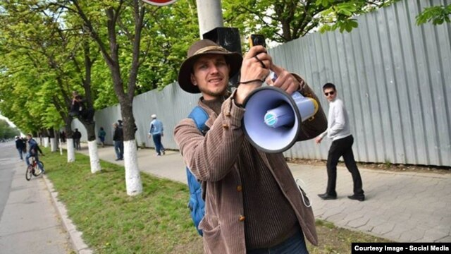Moldovan activist Oleg Brega has made a name for himself making videos that pull no punches when it comes to exposing his country's shortcomings.