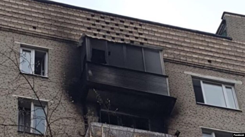 Russian lawmaker Sergei Shargunov believes arsonists sparked the fire by throwing an incendiary object onto his balcony.