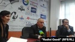 Рафикджон Шокиров, заместитель начальника Службы связи Таджикистана. Душанбе, 30 января 2013 года.