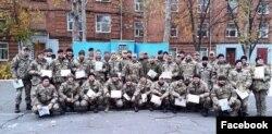 Випуск курсу лідерства, жовтень 2017 року. Фото з фейсбук-сторінки Центру підготовки сержантів ВМС