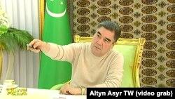 Гурбангулы Бердымухамедов, президент Туркменистана , 2019