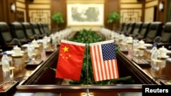 Zastava Kine i SAD-a