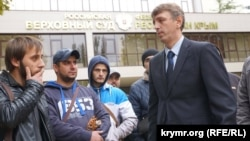 Адвокат Олексій Ладін після засідання суду