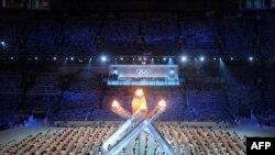Церемония закрытия Олимпиады в Ванкувере, 28 февраля 2010 г