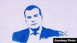 Портрет Дмитрия Медведева