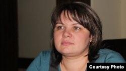 Жительница Астаны Олеся Беруашвили. Февраль 2013 года.