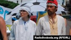 Голодувальники в Києві
