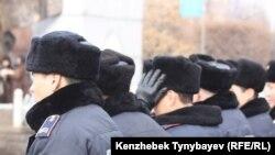 Казахские полицейские (иллюстративное фото).