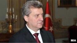 Makedoniýanyň prezidenti Gjorge Iwanow
