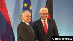 Germany - German Foreign Minister Frank-Walter Steinmeier meets with his Armenian counterpart Edward Nalbandian in Berlin, 3Nov. 2016