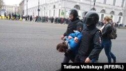 Задержание активистов в Санкт-Петербурге, 5 мая 2018