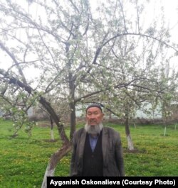 Митан Казыбеков. Арчагул айылы, Кара-Буура району, Талас өрөөнү.
