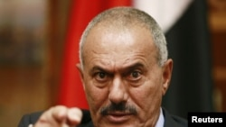 Yemen's president Ali abdullah Salah