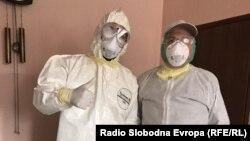 Здравствени работници во Дебар