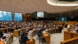 Detalj sa debate u Evropskom parlamentu