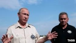 Владимир Путин в Севастополе, 18 августа 2015 года