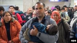 Германияга кирген сириялык качкындар, 28-сентябрь, 2015.