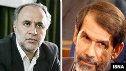 به گفته دو نماینده مجلس، صادق محصولی (راست) و حمید رضا حاجی بابایی به عنوان وزیران پیشنهادی رفاه و آموزش و پروش معرفی شده اند.