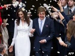 Свадьба Пола Маккартни и Нэнси Шевелл, 2011