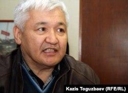 Марат Уаткан, журналист. Алматы, 27 марта 2012 года.