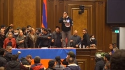 Outrage Erupts In Armenia After Nagorno-Karabakh Deal Announced