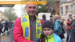Українці у Празі голосують за покликом серця і очікують змін на краще