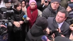 Clash In Kyiv As Protesters Seek Justice For Dead Lawyer
