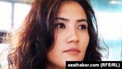 Туркменская активистка Дурсолтан Таганова.