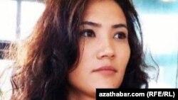 Туркменская активистка Дурсолтан Таганова