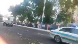 Crowd Karimov
